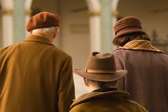 DSC_5416 (Sakuto) Tags: street old people brown color hat back oldsquare aplusphoto masterpiecesoflightdark