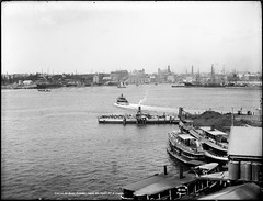 Circular Quay, Sydney from Milson's Point, Nor...