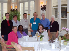 Our discussion group at Harvard Faculty Club