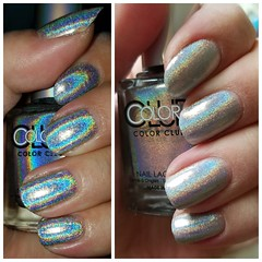 holopolish now im holosexual for this nail polish (tiffanycsteinke) Tags: nails holopolish holographic sparkle colorclub harponit halographichuesnailpolishmulticoloredharponit halographichuesnailpolish multicolored halographic