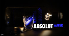 ABSOLUT WATER (Yaniv Ben Simon) Tags: ice water design israel fluid finish absolut splash liquid yanivbensimon wwwybscoil