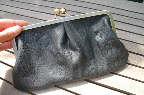 Karyn's Leather Clutch