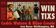 Cedric Watson & Bijou Creole at the Iron Horse