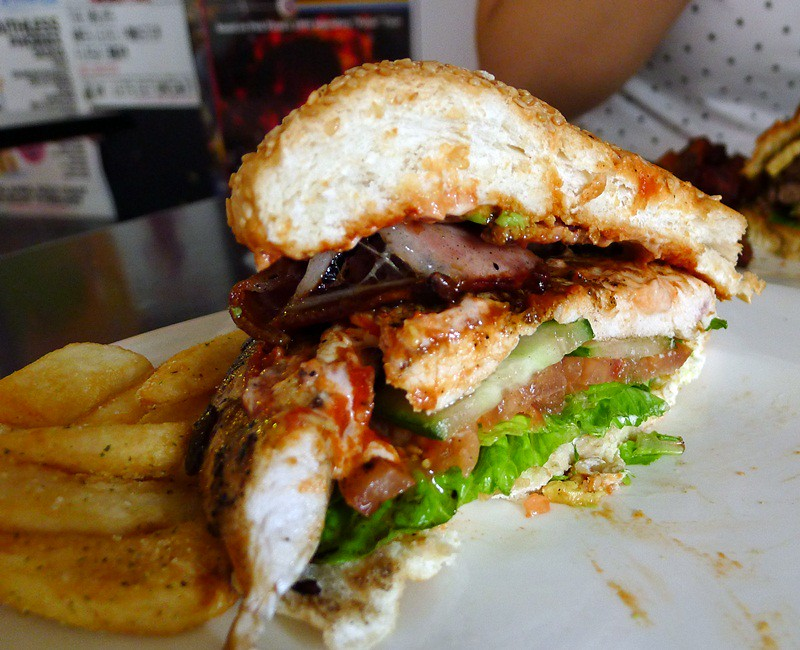Chicken burger@Burger Urge