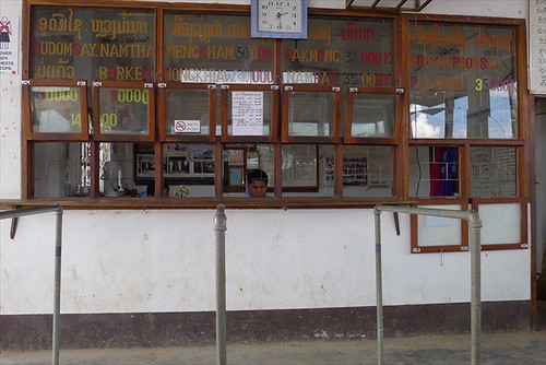 Luang Prabang Northern Bus station