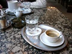 First Espresso in Vienna
