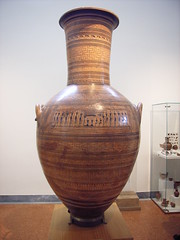 Monumental Attic grave amphora (tacowitte) Tags: museum athens greece ελλάδα αθήνα