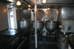 Cooking pots - Galley