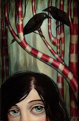 Dusk Watchers (verpabunny) Tags: original painting acrylic peppermint dva kellyvivanco picksoftheharvest2007