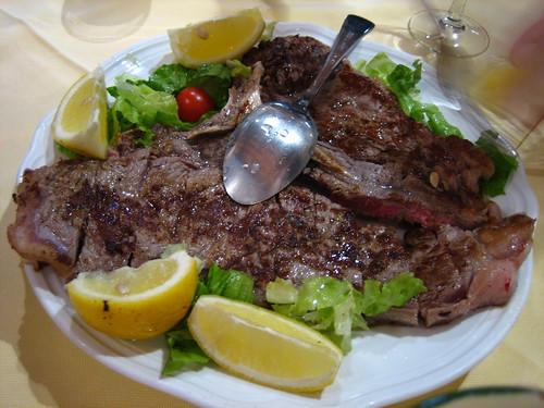 Florentine steak!