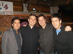 Me, Lukas, Uri, Dave