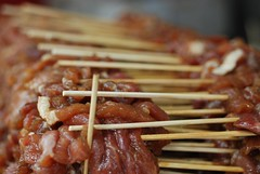 Skewered Meat