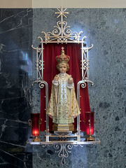 Cathedral of Saint Raymond Nonnatus, in Joliet, Illinois, USA - infant Jesus of Prague.jpg