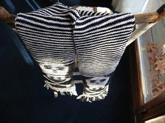 Skull Illusion Scarf At Angle