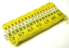 Yellow Measuring Tape Case