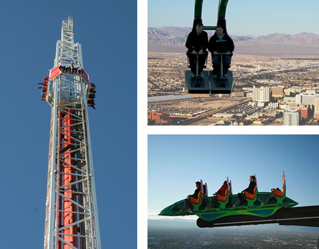 Stratosphere Tower - The Team always finds a bit of fun on the 108th floor.