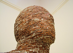 brick face