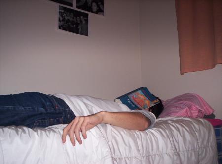 Sobando después de la lectura