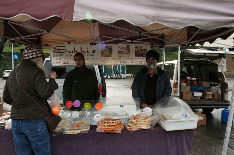 Sukhi's at San Rafael Farmer's Market