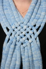 Interwoven Scarf close