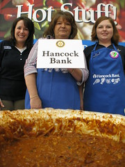Hancock Bank's chilli in Bay St. Louis, Mississippi, USA