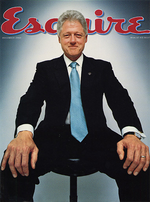 Bill Clinton in Esquire