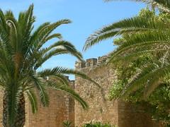 Tavira (`Freyja) Tags: palmeras castillo alczar murallas