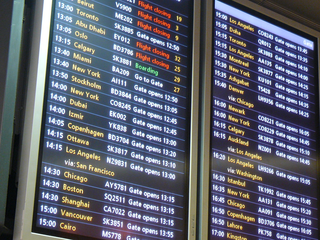 LHR Terminal 3 Departures (Everything You Don't Need to Know About Code-Sharing)