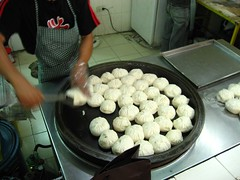 pan-fried siopao