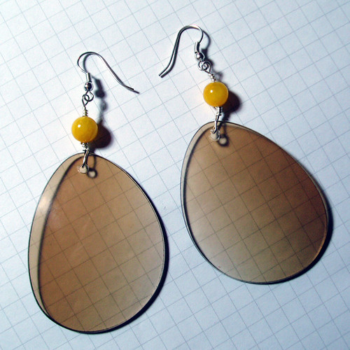 finished earrings