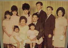 Ureño Saldivar family, 1968
