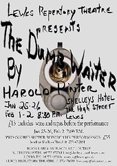 The DUMB WAITER - POSTER
