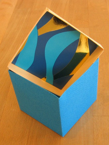 blue box with inside lid