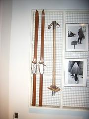 昭和初期の頃のスキー。