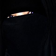 air3 (The Art of Veiling) Tags: woman black face fashion close veil dress muslim hijab modesty niqab abaya