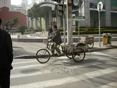 Shanghai cyclist, 2