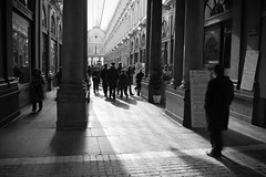 Les galeries royales (YnR) Tags: street city light shadow brussels people urban bw white black delete10 delete9 delete5 delete2 town europe gallery noir galeries belgium belgique delete6 delete7 crowd bruxelles delete8 delete3 delete delete4 save nb capitale brussel blanc royales 4print 4book photoprint11