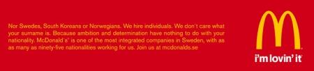 McDonald`s hamburger fries turks greeks indians i`m lovin it fast food merican style