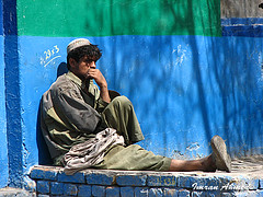 a lonely soul .... (Aawara) Tags: pakistan quetta pashtun supershot balochitan