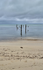 Grey Morning in Ambergris Caye (RussHeath) Tags: color island nikon raw belize tropical ambergriscaye hdr 3x nikon18200 d80 3exposure