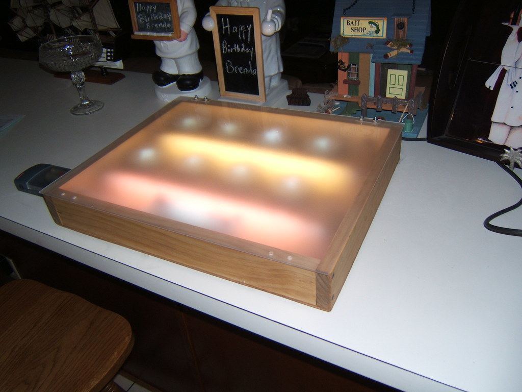 how to make fake light window