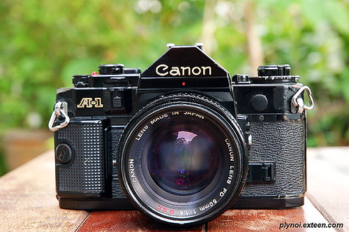 My Old Canon A-1