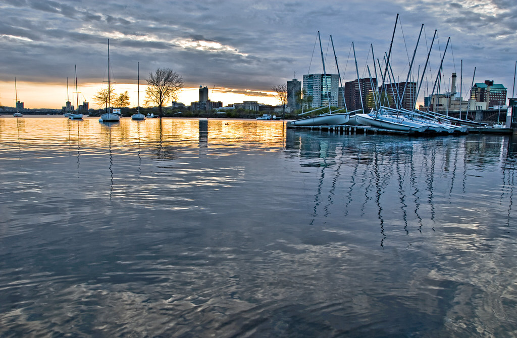 Masted Reflections