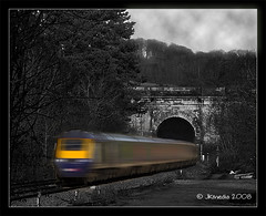 HST Box (JKmedia) Tags: bw blur speed train canon eos bath ashley 19thcentury fast engineering tunnel ps explore express wiltshire intercity 125 brunel hst gwr cs3 corsham highspeedtrain hintofcolour wilts supershot bristoltolondon 40d 15challengeswinner thechallengegame challengegamewinner shockerwick fabcap jkmedia nearboxtunnel pregamewinner