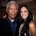 Morgan Freeman and Miss South Africa | The Table Bay Hotel