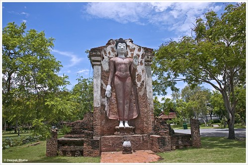 The Main Chedi of Wat Maha That, Sukhothai