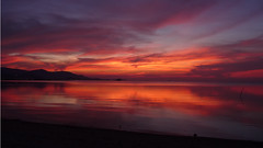 Koh Samui Sunset @ Plailaem   (soma-samui.com) Tags: travel red beach thailand island lumix asia dusk resort samui koh           plailaem tourguidesoma soma dmcfz28  somasamuicom  sunset