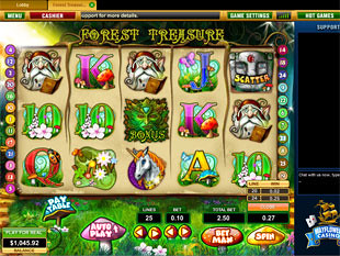 Forest Treasure slot game online review