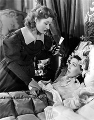 Maureen O'Sullivan with Greer Garson in Period Costume Nightgown & Night Bonnet in PRIDE AND PREJUDICE 1940 (mondas66) Tags: ruffles costume robe lingerie actress boudoir romantic gown elegant gowns ornate bonnet period nightcap dainty nightgown frilly robes nightgowns elegance nightdress peignoir actresses ruffle bonnets demure nightwear frills frill ruffled nightie flouncy flounce frilled greergarson nighties negligee nightcaps negligees nightdresses flounces maureenosullivan flounced peignoirs befrilled