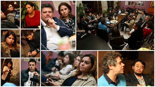 Apresentação para blogueiros da Festa do Teatro no Espaço Parlapatões -  Fotos de Mario Miranda Agência Foto